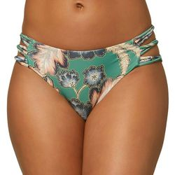O'Neill Juniors Arbor Mid Rise Bikini Bottom