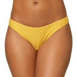 Juniors Cruz Textured Full Bikini Bottom