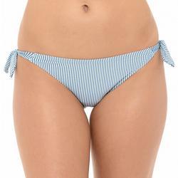Juniors Side Tie Straps Hipster Bikini Bottom