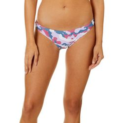 Juniors Camo Cheeky Hipster Swim Bottoms