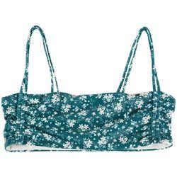 Radar Juniors Floral Bandeau Bralette Swim Top