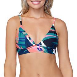 Juniors Anya Tropical Longline Bralette Swim Top