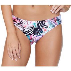 Juniors Tropical Floral Cheeky Swim Bottoms