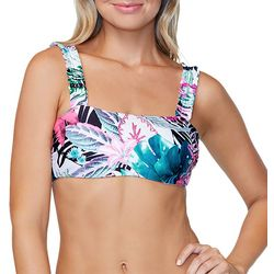 RAISINS Juniors Tulum Tropical Bralette Swim Top