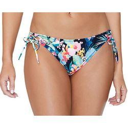 Island Soul Juniors Tropical Floral Tie Side Swim