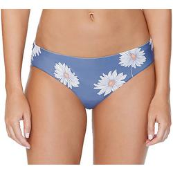 Juniors Daisy Print Swim Bottoms