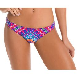 KIKI RIO Juniors Mack Rainbow Print Swim Bottoms