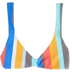 Juniors Verticle Striped Bralette Swim Top