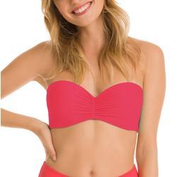 Juniors Solid Strapless Bikini Top