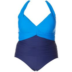 Plus Colorblock  MIO One Peice Swimsuit