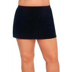 American Beach Plus Solid Shaping Swim Skirt