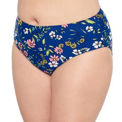 Hot Water Juniors Plus Summer Organics Swim Bottoms