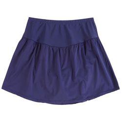 Leilani Plus Solid Tummy Control Swim Skirt