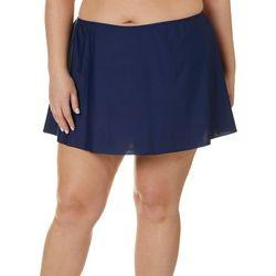 Del Raya Plus Solid Swim Skirt