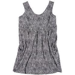 Plus Leopard Dress Cover Up