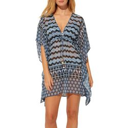 Bleu Rod Beattie Womens Island Time Caftan Swim