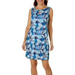 Paradise Bay Womens Key Hole Dress Cover-Up