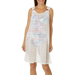 Paradise Bay Womens Ring Dress Cover-Up