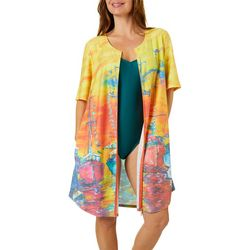 Leoma Lovegrove Womens Sailors Delight Swim Cover Up
