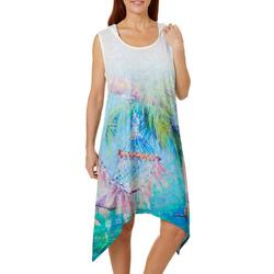 Womens Take Five Hoodie Cover-Up