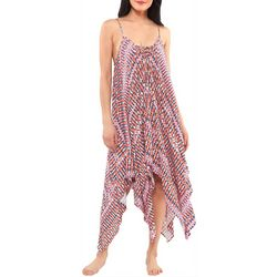Jessica Simpson Womens Lace Up Dress