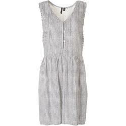 Womens Relaxed Button Dress Cover Up
