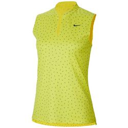 Nike Womens Dri-FIT Graphic Sleeveless Polo Shirt