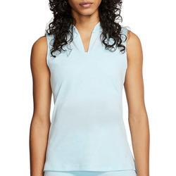 Golf Womens Dri-FIT Subtle Floral Sleeveless Polo Shirt