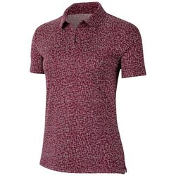 Nike Womens Dri-FIT UV Fairway Print Polo Shirt
