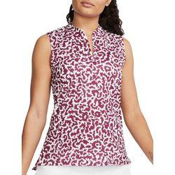 Nike Womens Dri-FIT Victory Texture Print Sleeveless Shirt