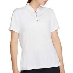 Nike Golf Womens Dri-FIT Solid Short Sleeve Polo Shirt