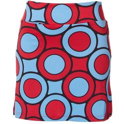Golftini Womens Circles Golf Skort