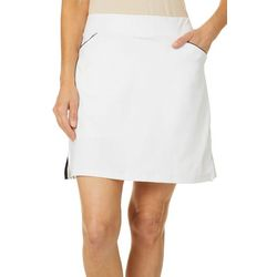 Ruby Rd Womens Adventure Solid Skirt With White Lining