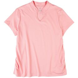 Ruby Road Womens Polo Top With A Small Collar