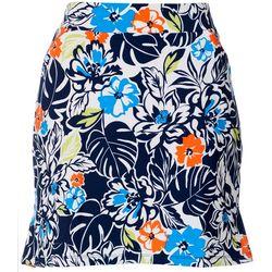 Ruby Road Golf Womens Floral Print Pull On Skort