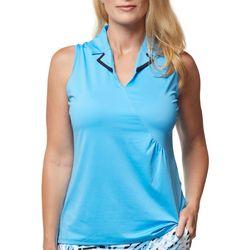 Pelagic Womens Solid Fishing Shorts Zipper Detail