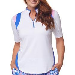 Womens Two Toned Golf Shirt
