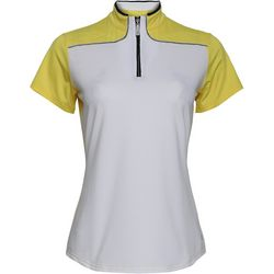 Bette & Court Sunray Short Sleeve Polo Golf Shirt
