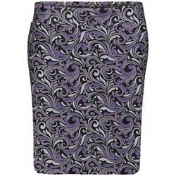 Bette & Court Womens Scroll Print Pull On