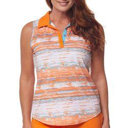 Bette & Court Womens Printed Sleevless Top