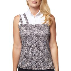 Sport Haley Womens Spotted Golf Tank Top