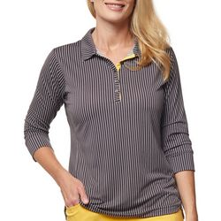 Sport Haley Womens Printed 3/4 Sleeve Shirt
