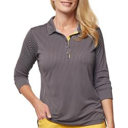 Womens Printed 3/4 Sleeve Shirt
