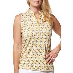 Sport Haley Womens Multi Pattern Sleevless Top