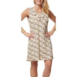 Womans Printed Sleevless Top