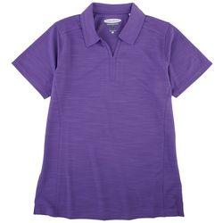 Pebble Beach Womens Polo Short Sleeve Top