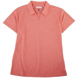 Pebble Beach Womens Polo Short Sleeve Top