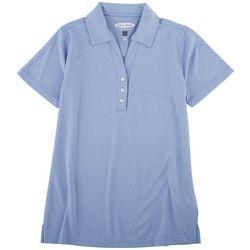 Pebble Beach Womens Premier Performance Polo Shirt