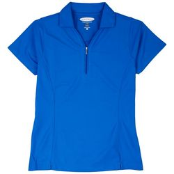 Pebble Beach Womens Pique Short Sleeve Shirt