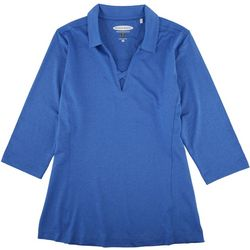 Pebble Beach Womens Collared Shirt